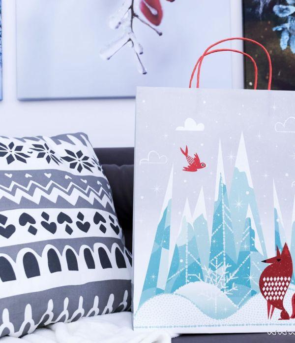 Vinter 2017: Winter- und Weihnachtsdeko von IKEA + DIY Dekokissen