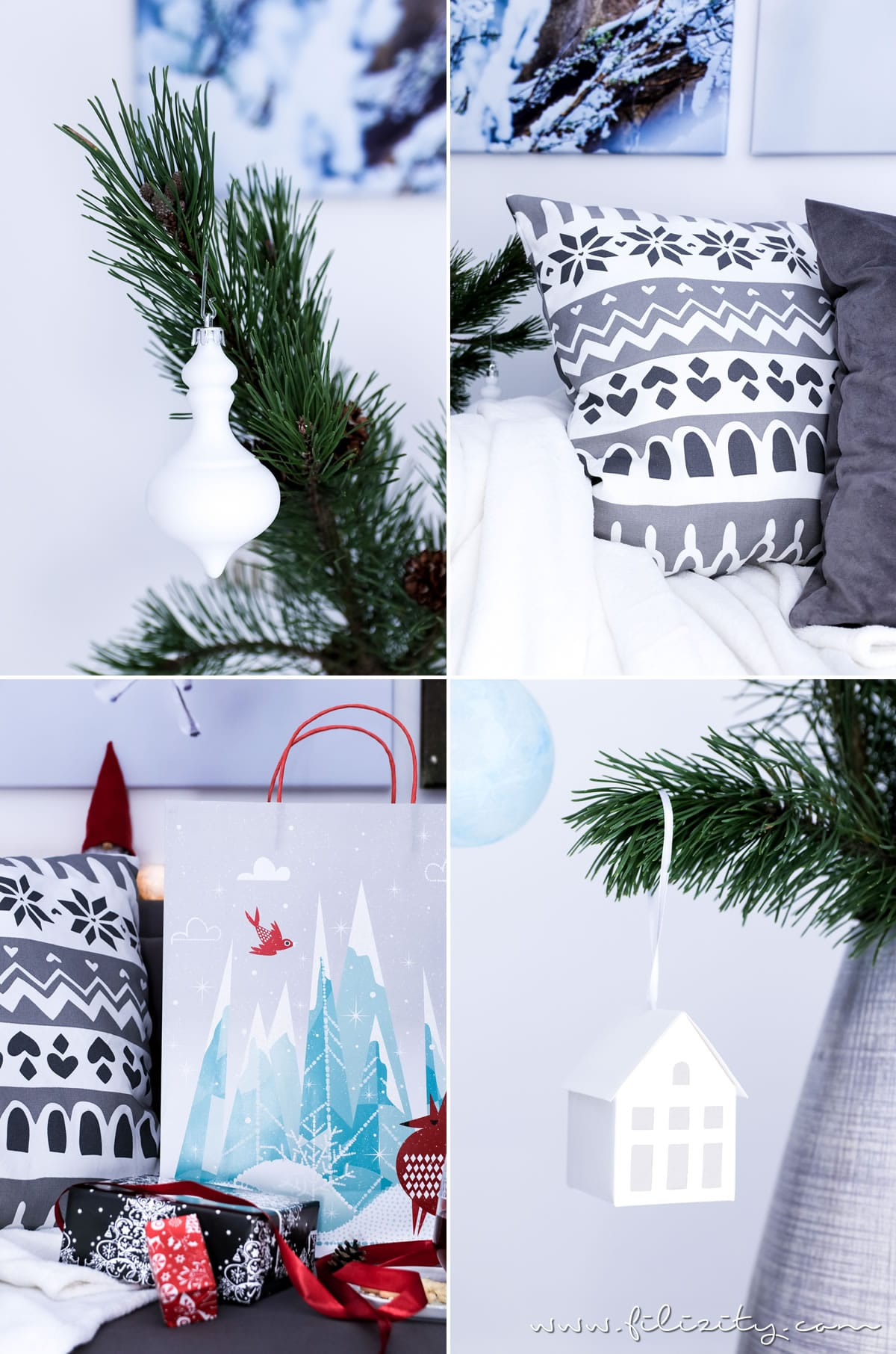 Vinter 2017: Winter- und Weihnachtsdeko von IKEA + DIY Dekokissen | Filizity.com | Interior-Blog aus dem Rheinland #vinter2017 #ikea #weihnachten