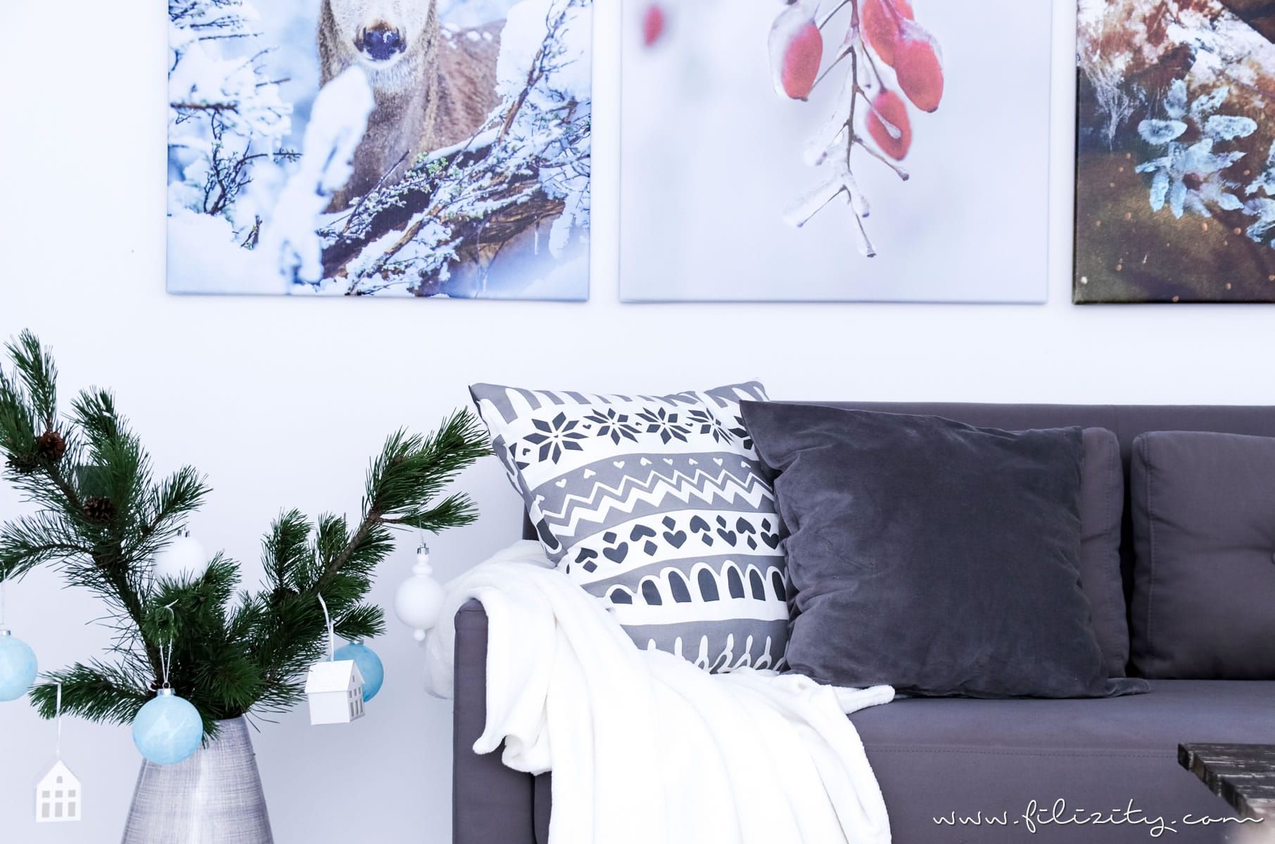 vinter 2017 winter und weihnachtsdeko von ikea diy dekokissen interior blog. Black Bedroom Furniture Sets. Home Design Ideas