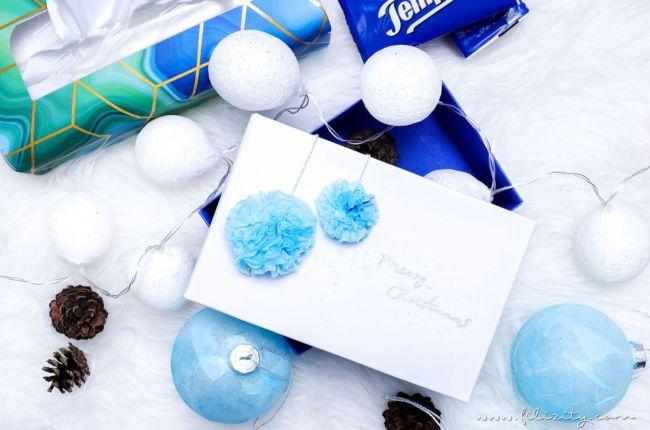 3 weihnachtliche DIY-Ideen mit Taschentüchern