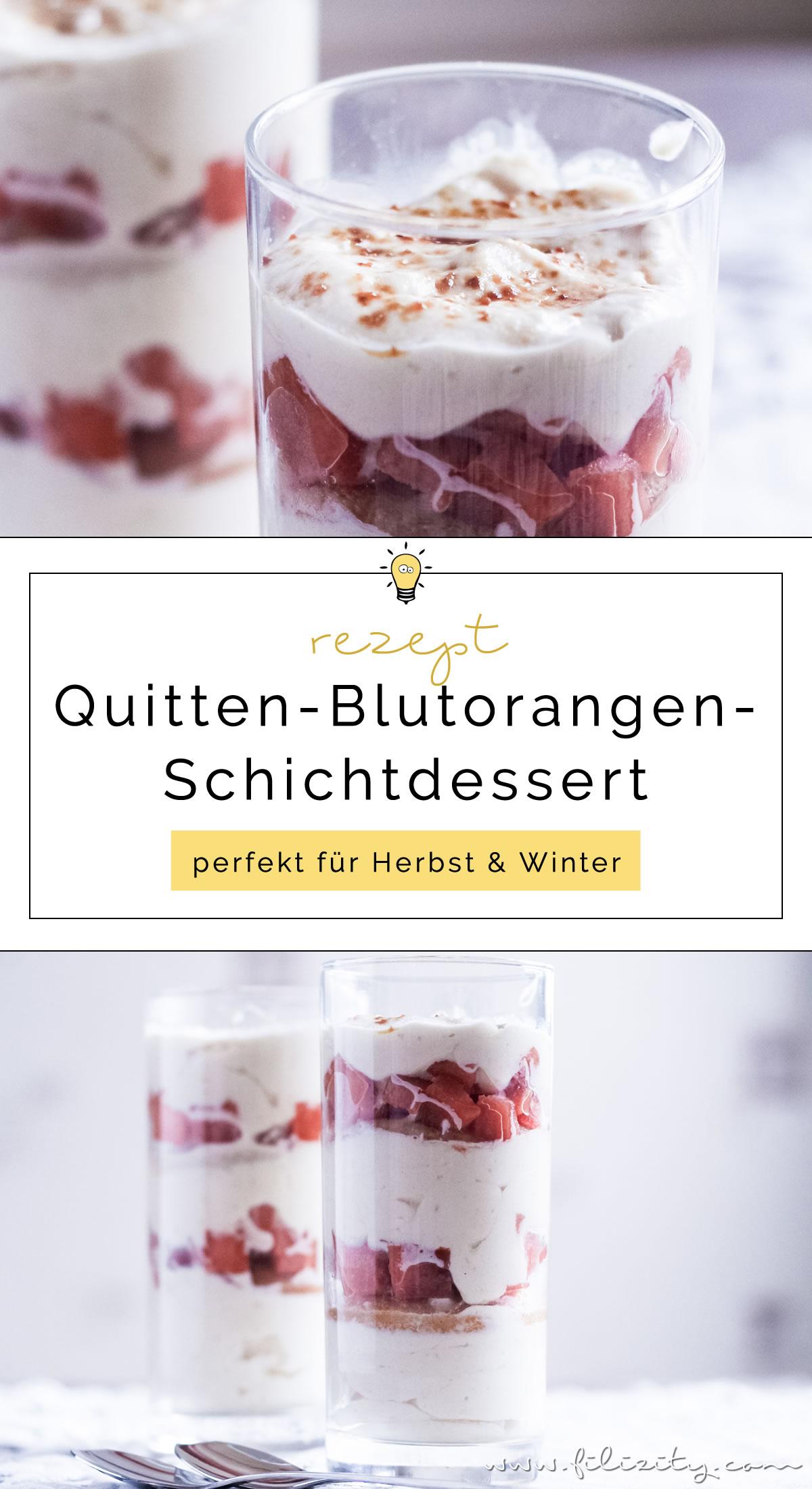 Quitten-Blutorangen-Schichtdessert (Trifle) mit Kokos-Mascarpone-Creme | exotischer, winterlicher Nachtisch | Filizity.com | Food-Blog aus dem Rheinland #trifle #dessert #winter