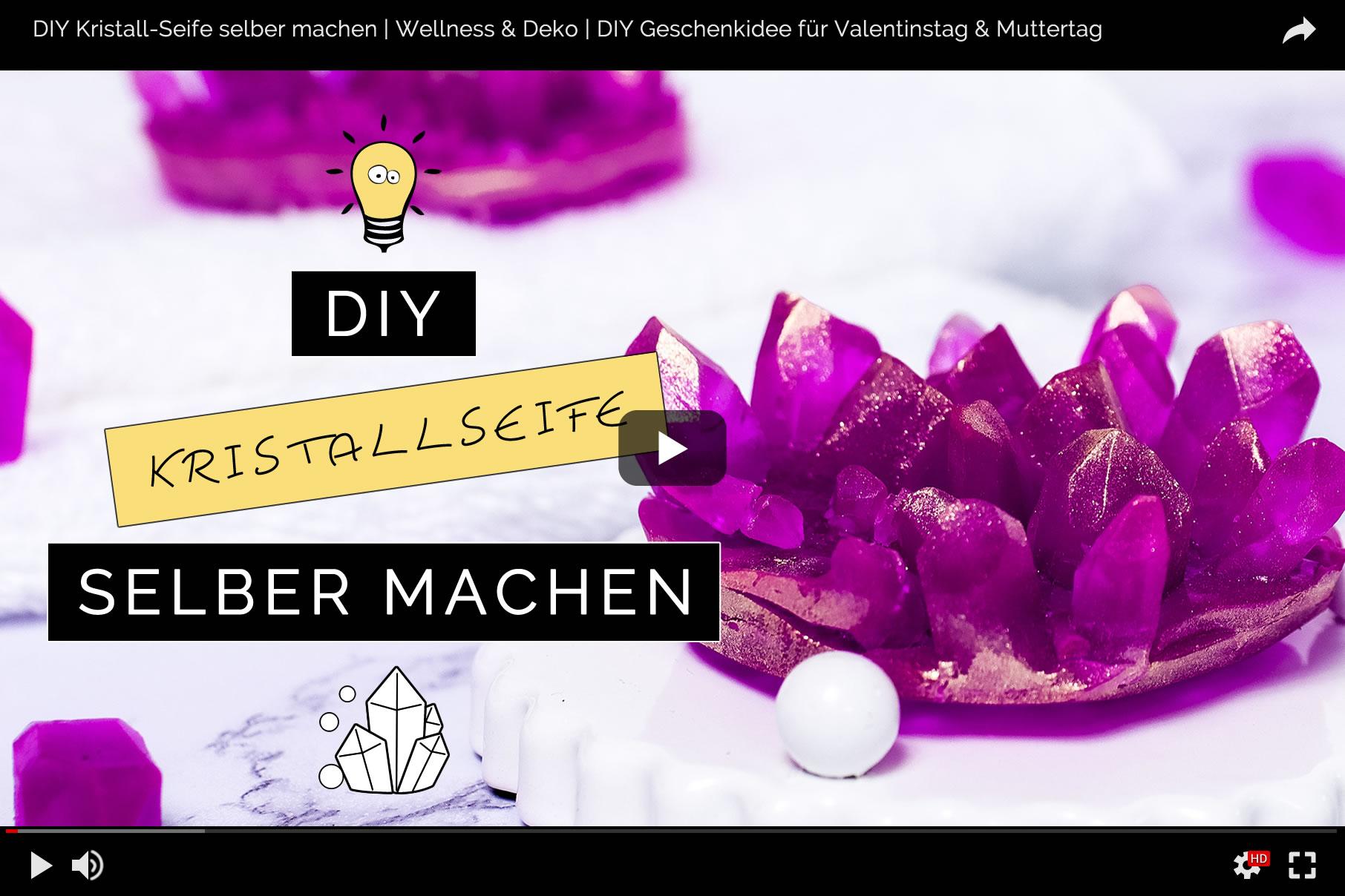 DIY Geschenkidee für Valentinstag oder Muttertag: Kristall-Seife selber machen | Filizity.com | Beauty & DIYBlog aus dem Rheinland #seife #valentinstag #muttertag #geschenkidee