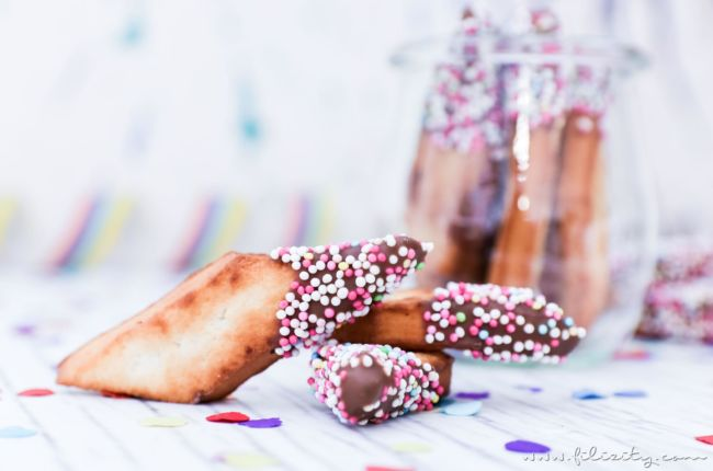 "Schnelles Karnevals-Rezept: Schmalzgebäck mit ""Konfetti"""