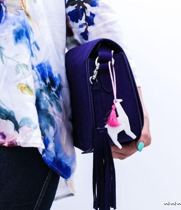 DIY Lama Schlüssel- & Taschen-Anhänger