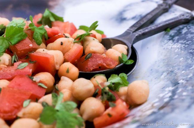 Orientalischer Kichererbsen-Salat