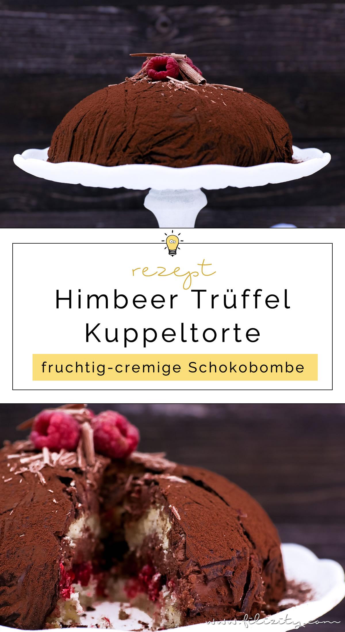 Für Schoko-Junkies: Himbeer-Trüffel-Torte | Perfektes Dessert für besondere Anlässe wie Valentinstag oder Muttertag | Filizity.com | Food-Blog aus dem Rheinland #schokolade #chocolate #torte