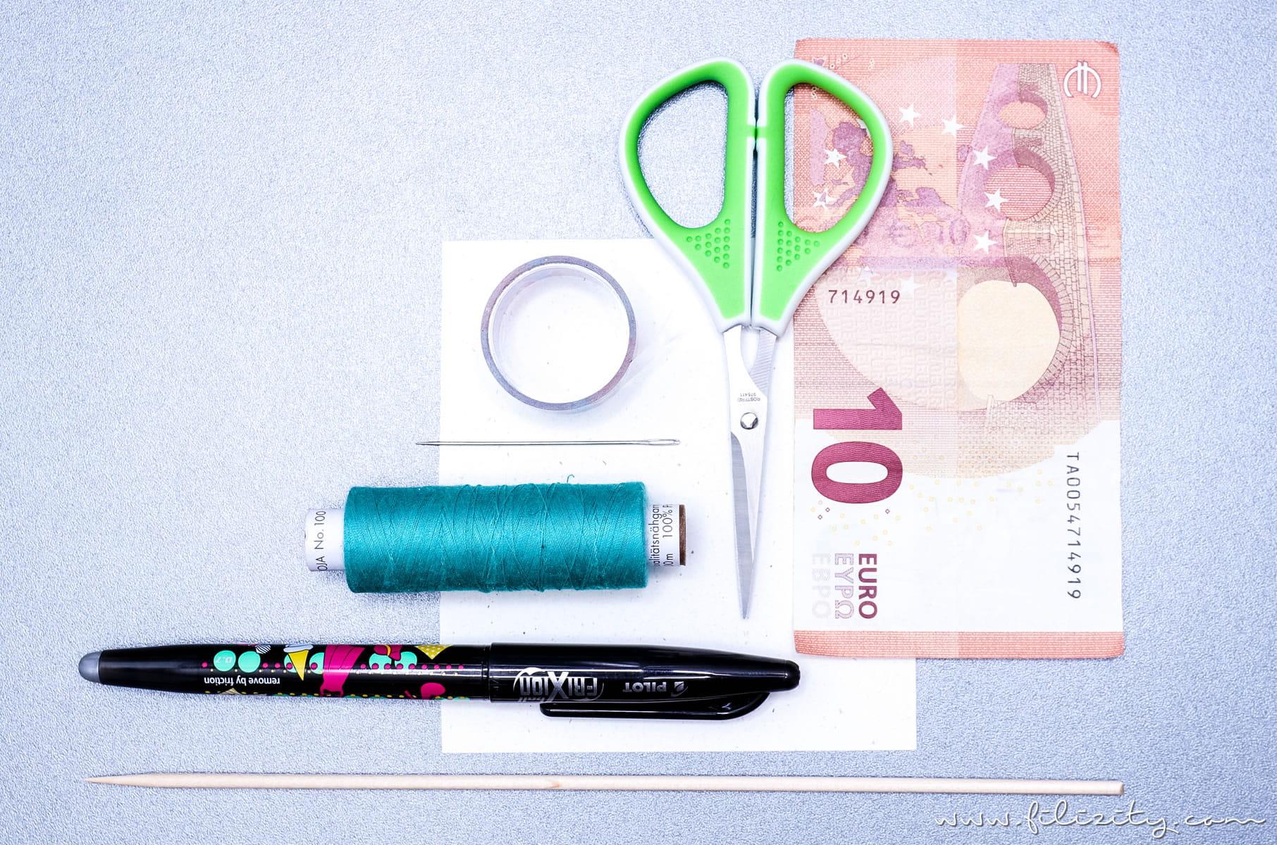 Kreative Geldgeschenke Origami Lamas Aus Geldscheinen Falten