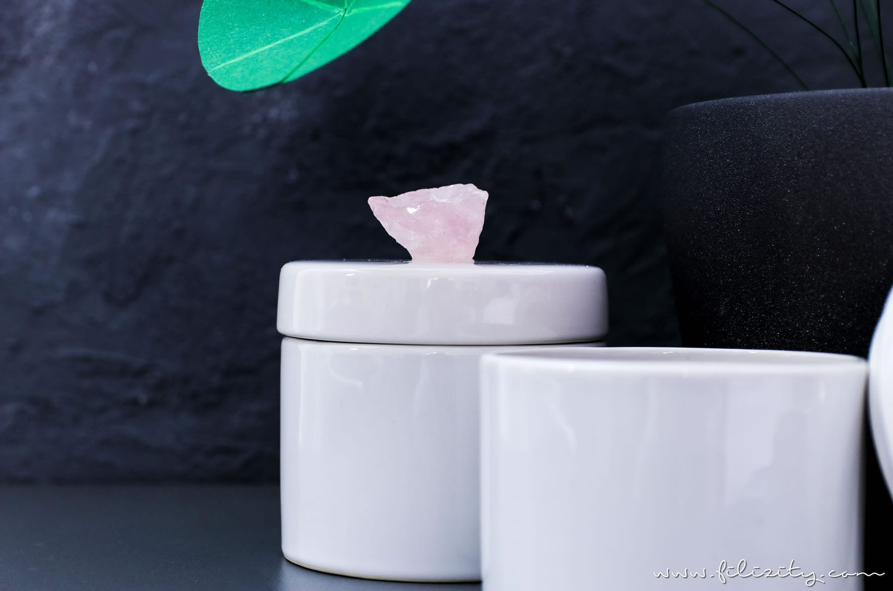luxus deko selber machen diy kristalldosen. Black Bedroom Furniture Sets. Home Design Ideas