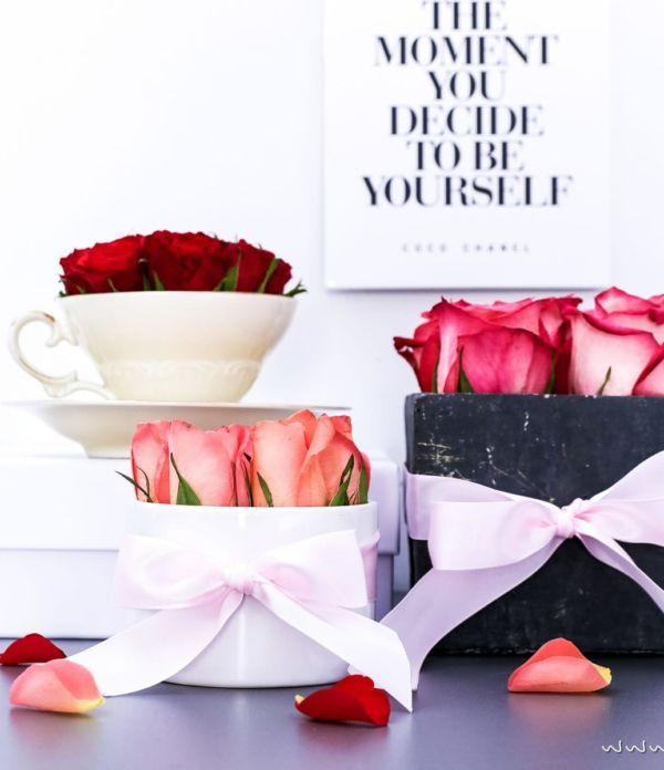 3x Flowerbox selber machen – DIY Geschenkidee & Deko