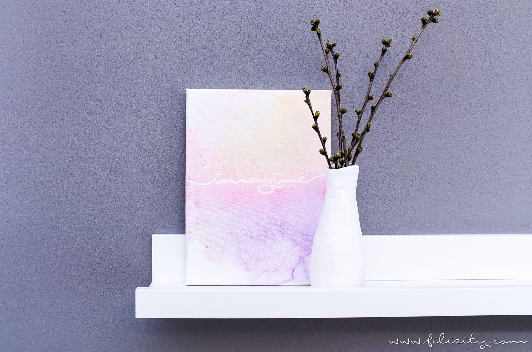 Abstrakte Aquarell Bilder Malen Schnell Einfach Ohne Aquarellfarben Filizity Com Interior Diy Blog Aus Dem Rheinland