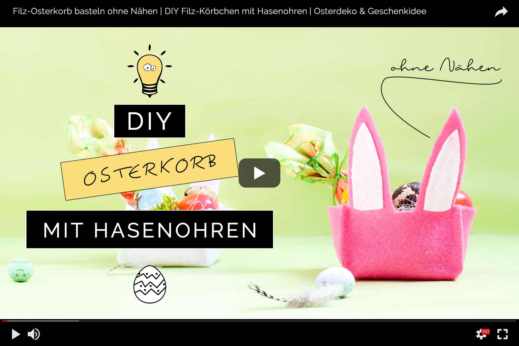 filz osterkorb basteln ohne n hen diy blog aus dem rheinland. Black Bedroom Furniture Sets. Home Design Ideas