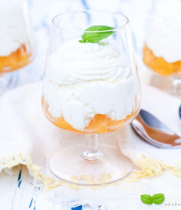 Himmlisches Dessert-Rezept: Mascarpone-Creme mit Aprikosen