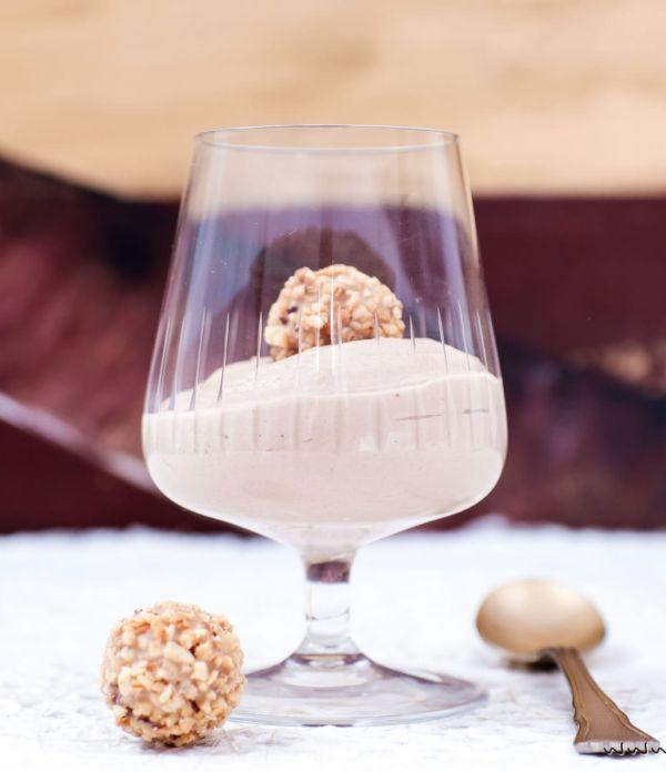 Sündiges Dessert-Rezept: Schoko-Nougat-Mousse