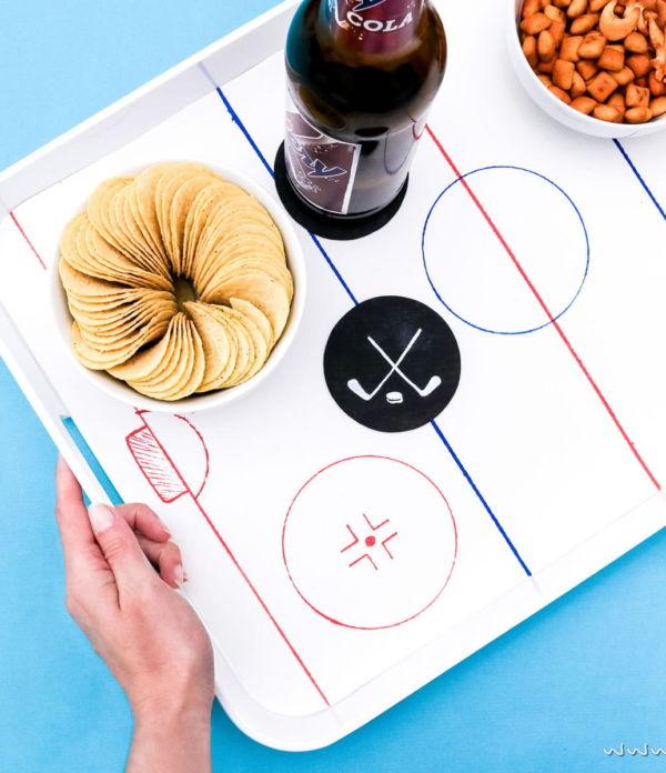 DIY Deko Ideen für die Eishockey WM