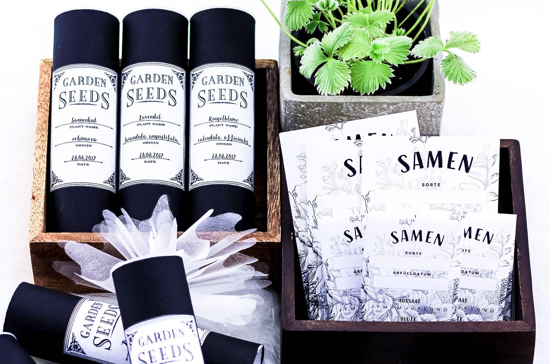 DIY Saatgut-Aufbewahrungsdosen selber machen | Upcycling aus Katzenleckerli-Dosen für mehr Ordnung im Garten | Filizity.com | DIY-Blog aus dem Rheinland #frühling #garten #greenliving