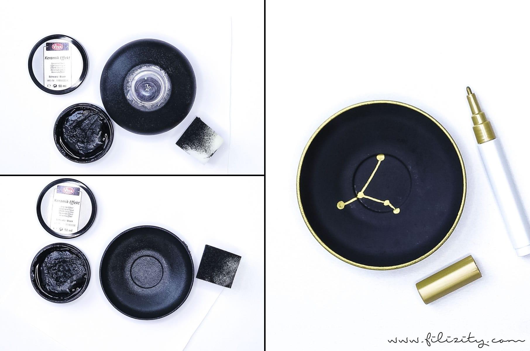 pers nliche geschenkidee schmuckschale mit sternzeichen. Black Bedroom Furniture Sets. Home Design Ideas
