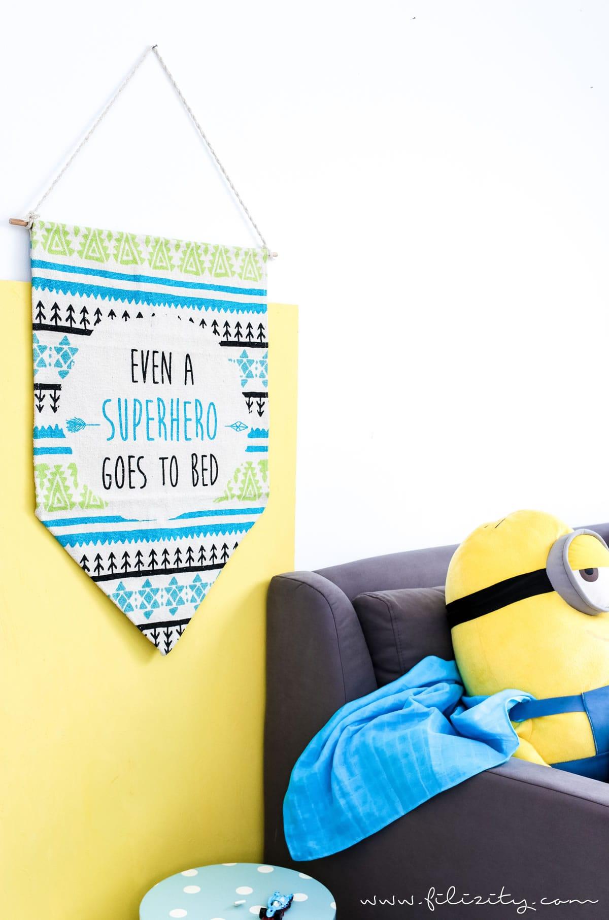 sch ne kinderzimmer deko selber machen so einfach wird. Black Bedroom Furniture Sets. Home Design Ideas