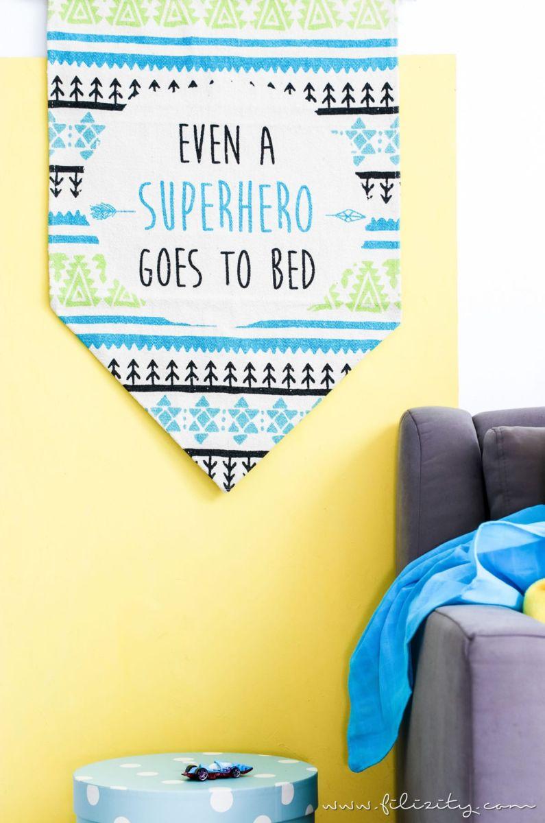 schöne kinderzimmer-deko selber machen: so einfach wird aus einem