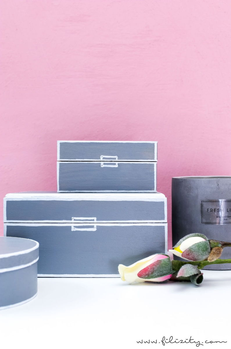 Diy aufbewahrungsboxen im geometrisch minimalischen style for Moderne deko