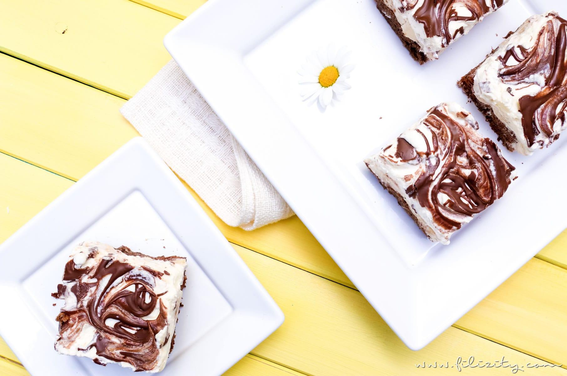Rezept für Lenin-Torte mit Bananen - Glutenfreier Sommerkuchen | Filizity.com | Food-Blog aus dem Rheinland #sommer #torte #kuchen