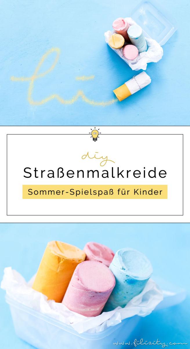 Straßenkreide selber machen | DIY Straßen-Malkreide für Kinder | Filizity.com | DIY-Blog aus dem Rheinland #sommer #bastelnmitkindern