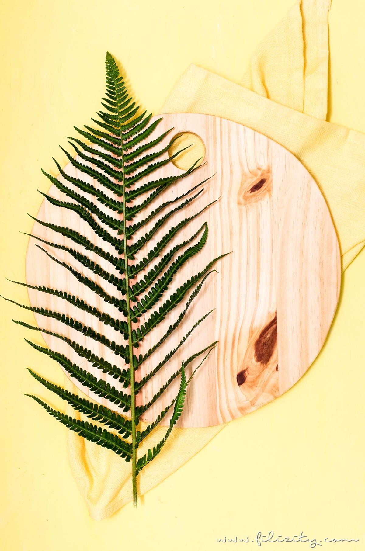 DIY Küchen-Deko: Holz-Küchenbretter selber machen | Schneidebrett sägen - So geht's | Filizity.com |DIY-Blog aus dem Rheinland