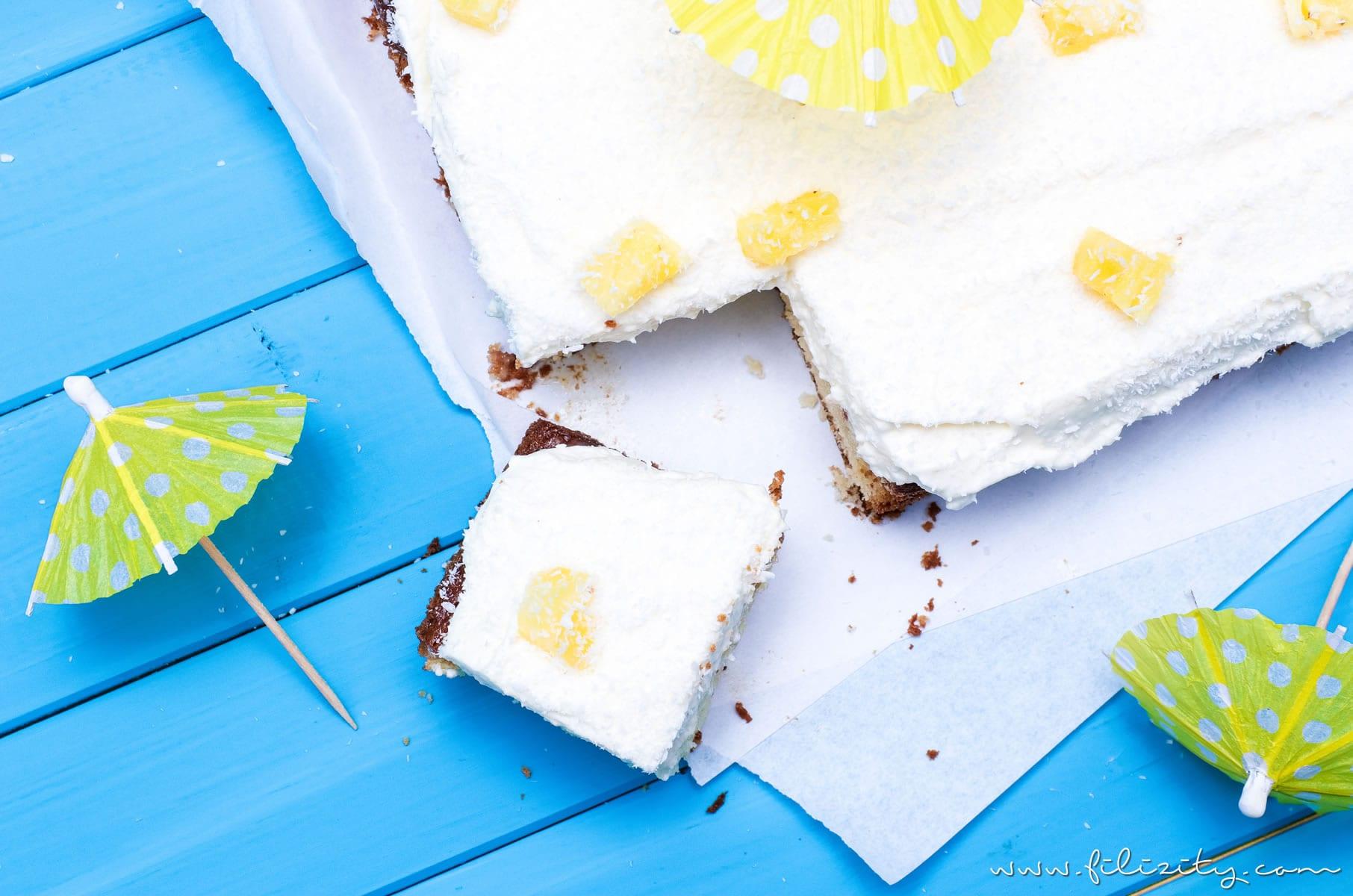 Piña Colada Poke Cake – Vom Cocktail zur Torte