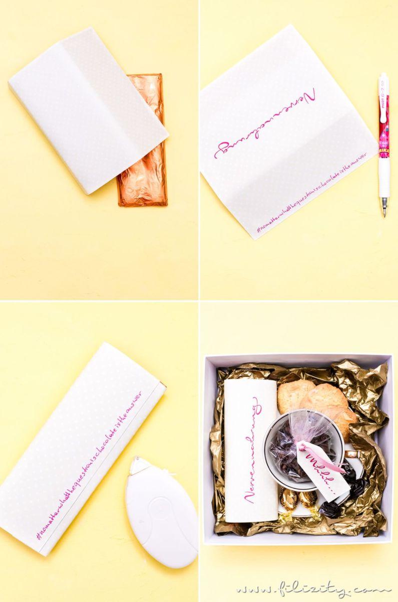 DIY Geschenkidee gegen Stress: Anti-Stress-Paket für kleine Pausen zwischendurch | Filizity.com | DIY-Blog aus dem Rheinland #pilotpen #100jahrepilot #mika