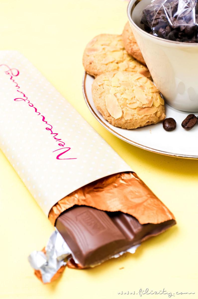 schokolade geschenke selber machen with schokolade. Black Bedroom Furniture Sets. Home Design Ideas