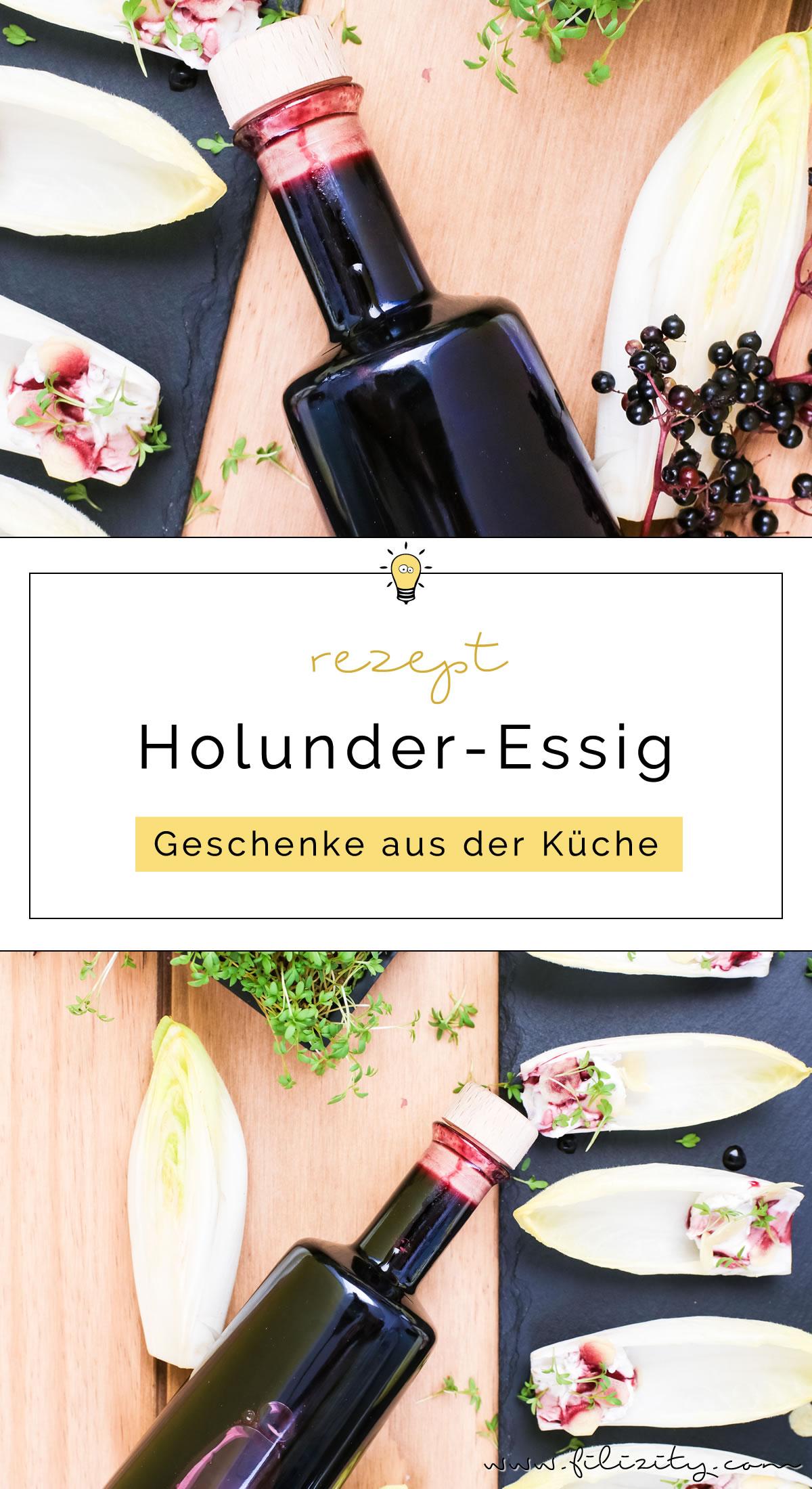 So kannst du Holunder-Essig selber machen | Eine tolle DIY Geschenkidee für Weihnachten & andere Anlässe | Filizity.com | Food-Blog aus dem Rheinland #holler #holunder #herbst #sommer #geschenkidee
