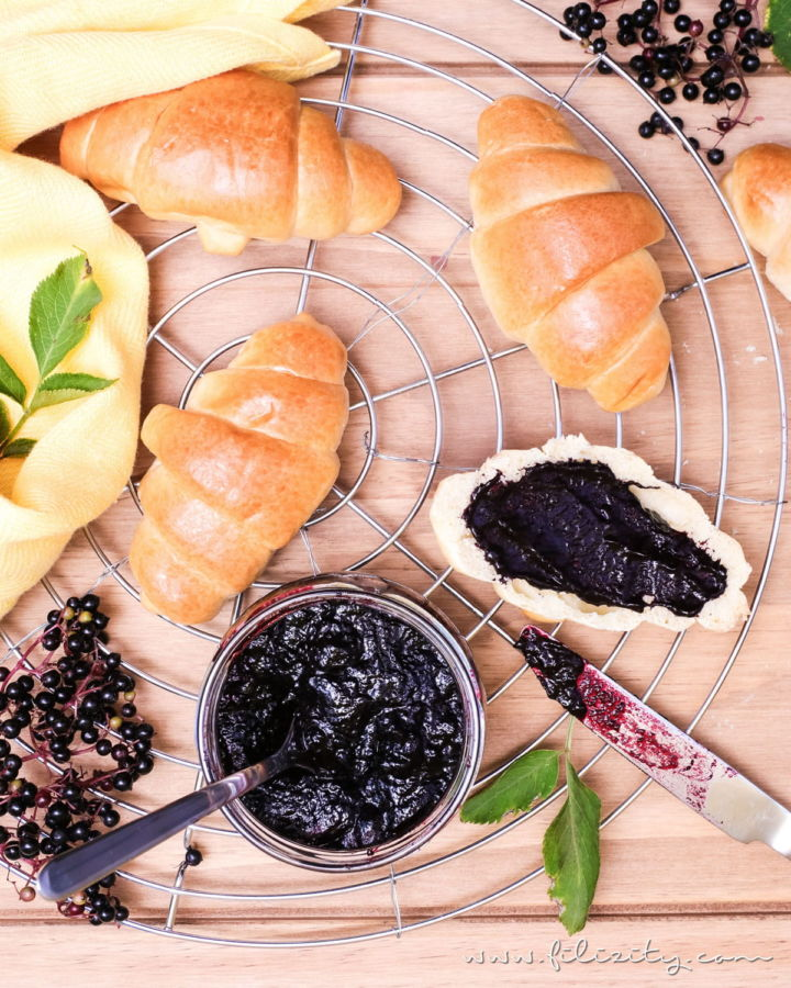 Holunder-Konfitüre – Ein einfaches Frühstücks-Rezept