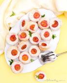 Einfaches Rezept für Kirschpflaumen-Muffins mit Kokos | Auch mit Mirabellen oder als Blechkuchen backen | Filizity.com | Food-Blog aus dem Rheinland #kirschpflaumen #sommer #mirabellen