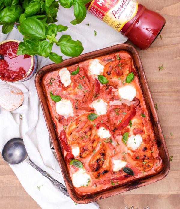 Hähnchen Toskana mit frischem Burrata + Rezeptwettbewerb