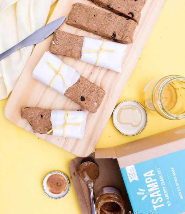 TSAMPA Energy Bars & DIY Energy Snack Set