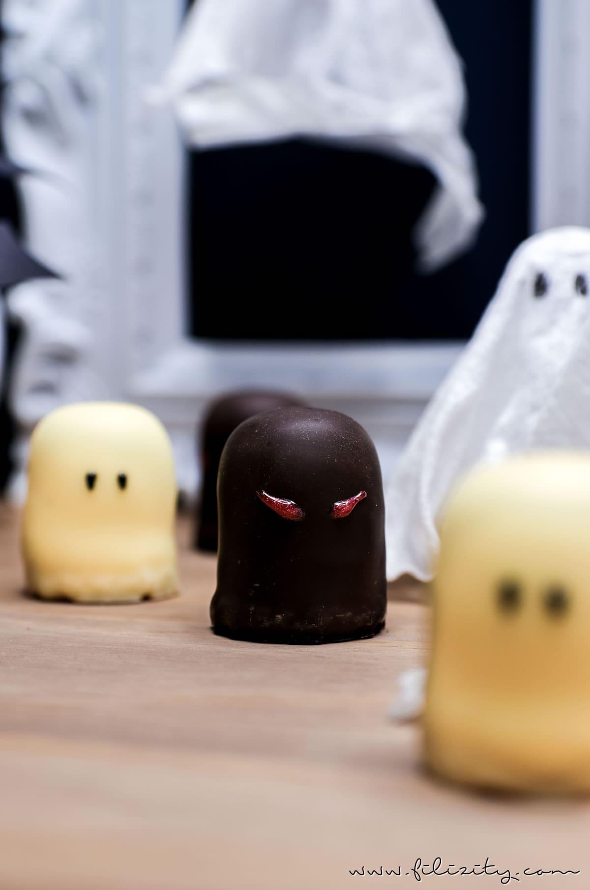 schnelles halloween rezept geister lollies schattenmonster food blog aus dem. Black Bedroom Furniture Sets. Home Design Ideas
