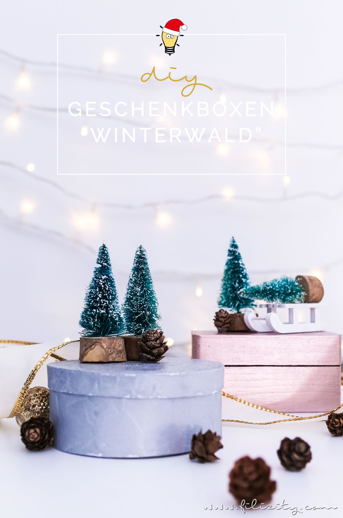 weihnachtsgeschenke verpacken diy geschenkboxen winterwald diy blog aus dem. Black Bedroom Furniture Sets. Home Design Ideas