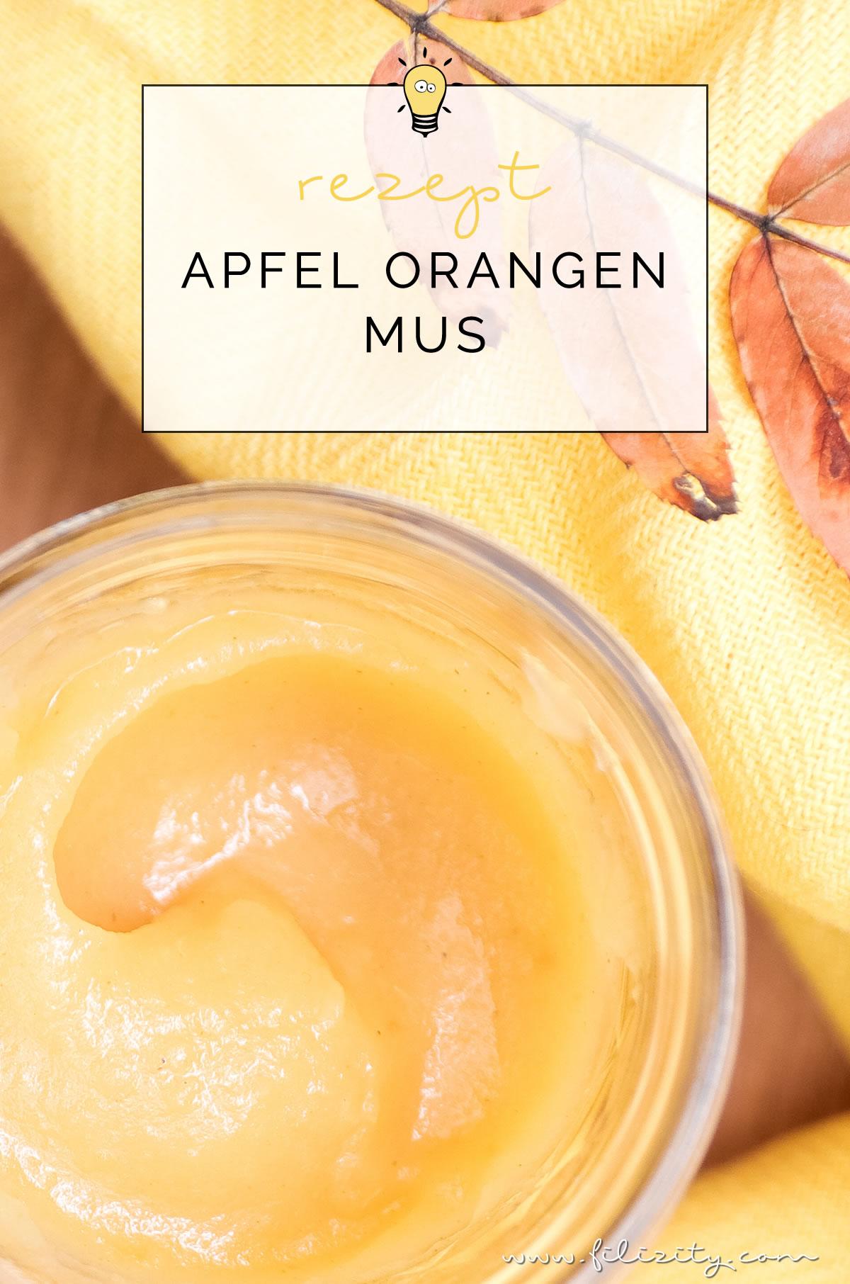 Rezept für weihnachtliches Apfel-Orangen-Mus mit Zimt ohne Zucker | Perfekt zum Frühstück, zum Dessert oder als Geschenk | Apfelmus kochen | Filizity.com | Food-Blog aus dem Rheinland #winter #weihnachten #geschenkidee #einkochen #einmachen #einwecken