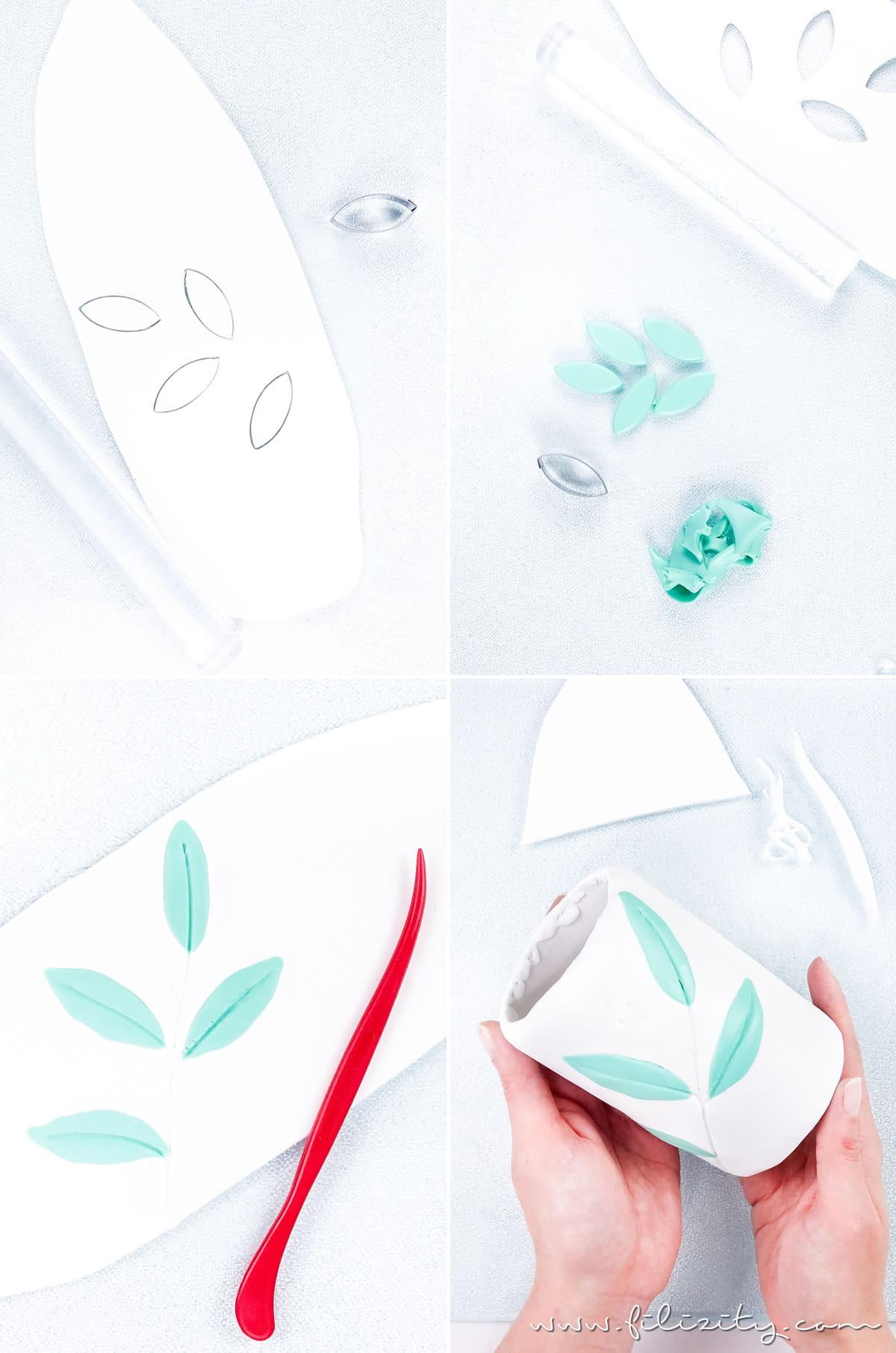 DIY FIMO Zahnbürstenbecher im Botanik-Look | Bad-Accessoire & DIY Geschenkidee im Urban Jungle Style selber machen | Filizity.com | DIY-Blog aus dem Rheinland #fimo #urbanjungle #pflanzen